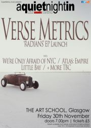 Verse Metrics - Radians EP Launch Poster