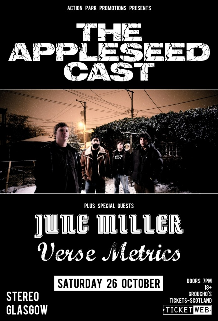 The Appleseed Cast - June Miller - Verse Metrics