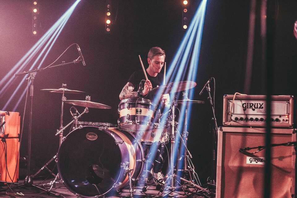 Calum MacVicar Drummer in Spotlight